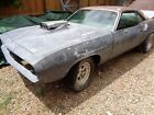 1970 Plymouth Barracuda 1970 Plymouth Cuda 340 4 Spd One of a Kind Project Tilt Front End