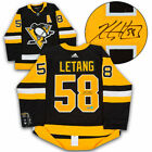 Kris Letang Pittsburgh Penguins Autographed Adidas Authentic Hockey Jersey