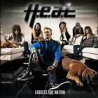 CD H.E.A.T. ADDRESS THE NATION BRAND NEW SEALED HEAT