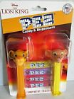THE LION KING Pez Dispenser's  2 Pack [Carded]  4 Rolls of Candy SIMON & NALA