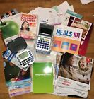 HUGE Weight Watchers Lot Bundle of Cookbooks Plan Books Calculators etc