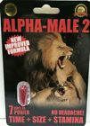 Alpha Male 2 (6 Pack) Fast Acting Male Sexual Performance Enhancer Pills