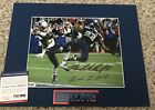 Malcolm Butler Patriots Signed 8x10 Matted Photo