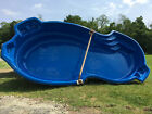 INGROUND FIBERGLASS SWIMMING POOL 14 X 30