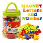 Magnetic Alphabet letters and Numbers Toy ABC 123 Fridge Plastic Toy Set