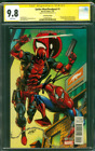 Spider Man Deadpool 1 CGC SS 9.8 Rob Liefeld Auto Convention Variant 2016