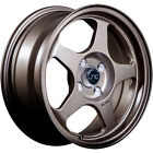 4 15x65 Bronze Wheel JNC JNC018 4x100 35