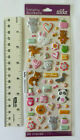 Sticko LUCY LOVE Package Mini Multi Sizes of Puffy Animal  Misc Stickers