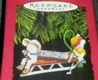 1996 Hallmark TIME FOR A TREAT Ornament HERSHEY'S CHOCOLATE NEW!