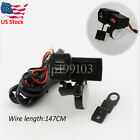New Red LED Voltmeter USB Charger For Suzuki Intruder 1400 1500 750 Volusia 800