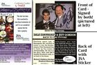 Dale Earnhardt Sr + Jeff Gordon Signed 1994 Action Packed Racing Card - JSA COA