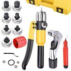Hydraulic Tube Expander Swaging Pipe Expanding Tool 7 Head Kit Precise Easy