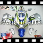 For Suzuki TL1000R 1998-2003 Fairing Bodywork ABS Plastic Silver Green 2n16 PA