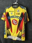VTG 90S Roslotto ZG Mobili Cycling Jersey Size XL Made In Italy