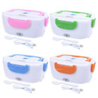 Travel Lunch Box 12V Car Electric Heating Food Bento Warm Container With Spoon