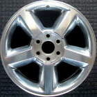 Chevrolet Avalanche All Silver 20 inch OEM Wheel 2007 2009 09597680 09597681