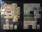Stamps 20+ albumpages Mix Foreign  US no idea of value LOW STARTING BID