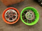 15-18 Aprilia RSV4 RR RF FACTORY FRONT REAR FORGED WHEELS RIMS ROTORS DISC HUB