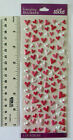 Sticko HEARTS MINI PUFFY Package of Mini Multi Puffy Heart Stickers See Ruler