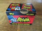 TOPPS DC COMICS BATMAN 1966 DELUXE REISSUE EDITION 143 CARD 1989 SET - SEALED!