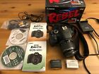 Canon EOS Rebel T3i EOS 600D with 18 55mm kit lens + extra battery Used