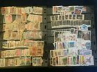 Stamps 20+album pages Mix Foreign  US no idea of value LOW STARTING BID