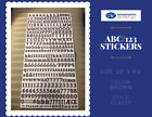 Various Creative Memories ABC 123 CLASSY Letter Number Stickers 1 Set