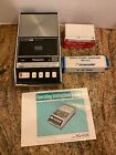 PANASONIC Cassette Tape Player Recorder RQ-413S w/ Manual and Microphone