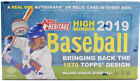 2019 TOPPS HERITAGE HIGH NUMBER Baseball Trading Cards -Factory Sealed HOBBY Box