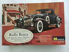Vintage 1965 Monogram Rolls-Royce 1931 Phantom II Model Car Instruction Sheet OB
