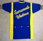 Vintage Giordana Sport Wool Cycling Jersey Embroidered Bicycle Shirt NWOT L