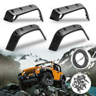 For Jeep 98 06 Wrangler TJ 7 Wide POCKET Style Protector Fender Flares 6PC Set