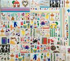 Huge lot 83 Sheets Mrs Grossmans SCRAPBOOKING STICKERS most retired RARE