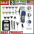 Professional Hair Cut Machine Barber Salon Wahl Cutting Clippers Trimmer Kit