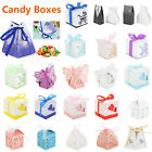 50pcs Creative Candy Favor Gift Boxes Wedding Birthday Party Baby Shower Bag