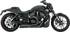 Vance  Hines Competition Series 2 into 1 Black Exhaust 07 17 Harley vrod VRSDX