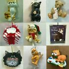 C18 CAT ORNAMENTS each ornament priced separately MANY CHOICES Feline Kitten Pet