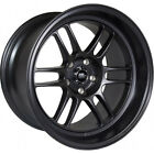 4 - 17x7.5 Black Wheel MST Suzuka 5x4.5 25