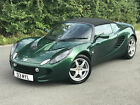 STUNNING 2002 LOTUS ELISE 18 ROADSTER 18K MILES ONLY RACING GREEN PX