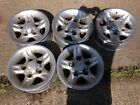 5 x genuine Land Rover Defender discovery Deep dish alloys 16 FREE POST