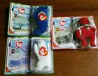 RARE McDonald's TY OSITO, PEANUT, CHILLY RETIRED Beanie Baby 2000/LOT of 3/NEW
