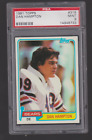 1981 Topps DAN HAMPTON Rookie #316 PSA 9 Mint BEAUTY