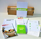 Weight Watchers PointsPlus 360 Welcome Kit Pocket GuideStart book FAQ tracker