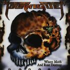 TOURNIQUET Where Moth And Rust Destroy (CD 2003) Heavy Metal Blade 9 Songs USA