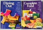 Weight Watchers Winning Points Complete Food  Dining out Companion book set