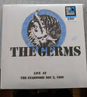 (LP) THE GERMS (2LP) / Live At Starwood, Dec. 3, 1980  - Limited Ed. - SEALED