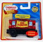 2010 THOMAS AND FRIENDS WOODEN RAILWAY MUSICAL SODOR CELEBRATION CABOOSE LE