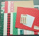 LOT Crate Paper Falala Paper  Embellishment Lot