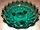 Indiana Colony Whitehall Riviera Blue Teal Footed Dish *MINT*