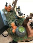 Lemax Spooky Town Village Accessory Witch's R And R #44731 Witch Sways